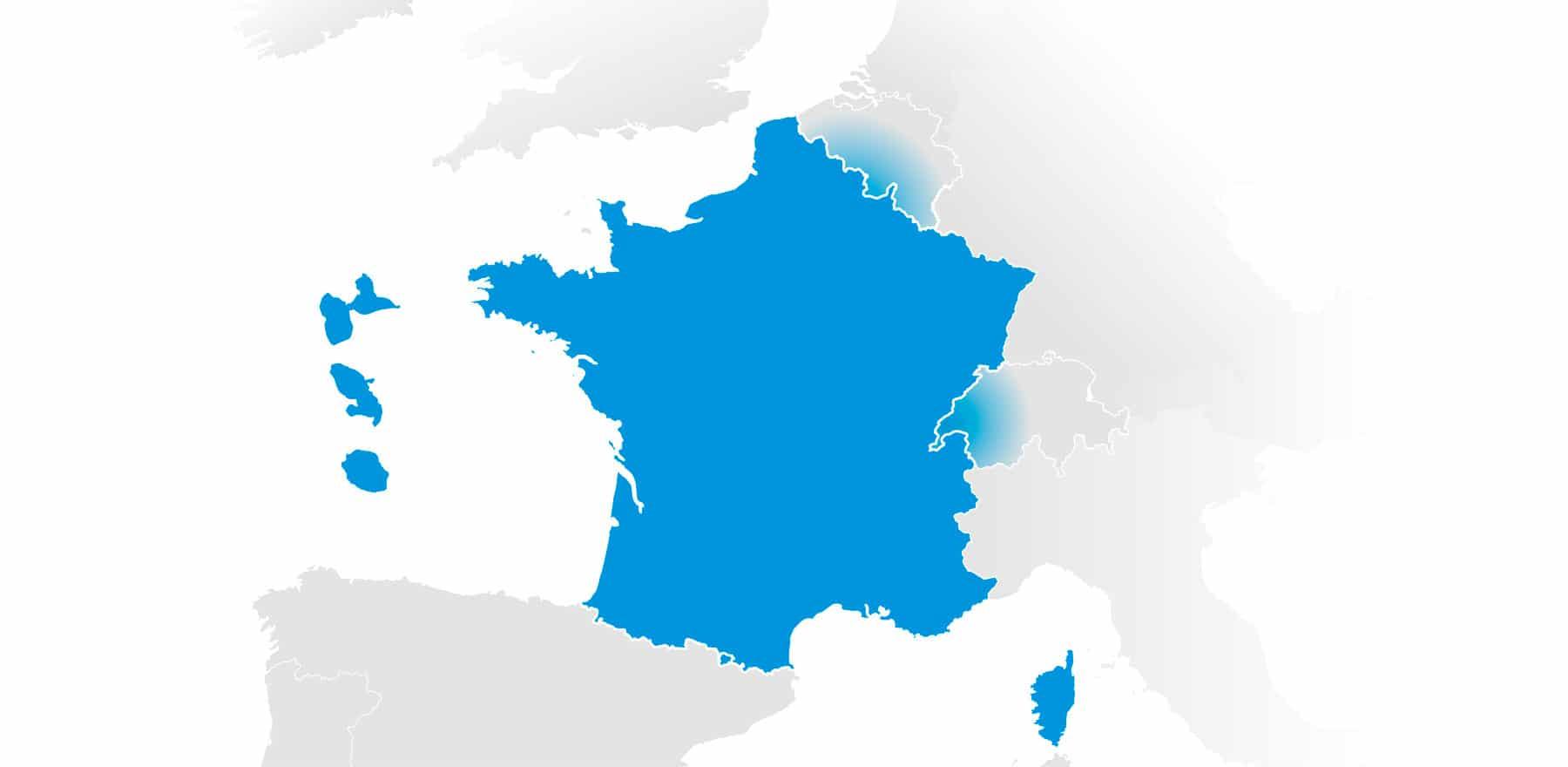 Intervention en Europe