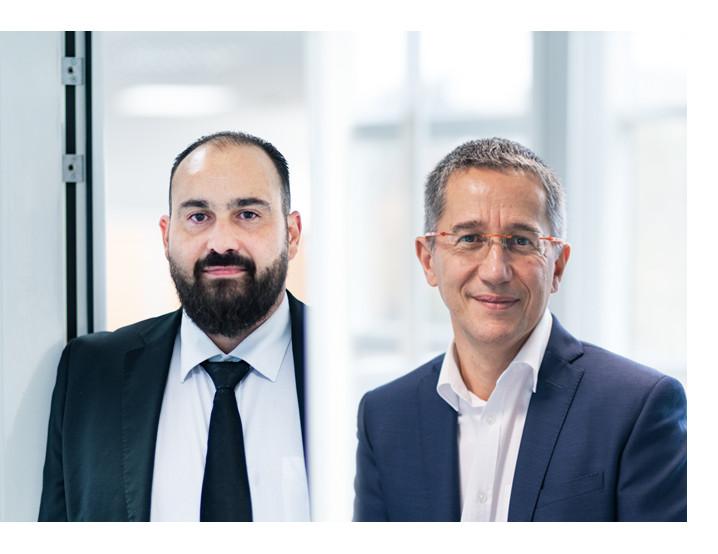 Karim JAOUANI, Directeur Général et Olivier BERTIN Président de LAVATEC
